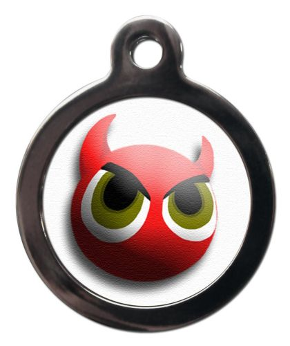 Pet ID Tag Little Devil face